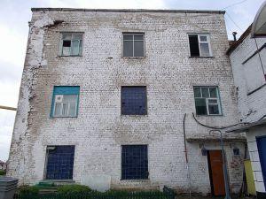 Обследование повреждений кирпичной кладки здания котельной