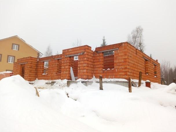 Общий вид конструкций здания