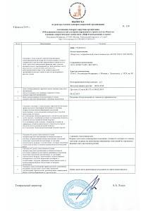 Выписка из реестра членов СРО «Нефтегазизыскания-Альянс»